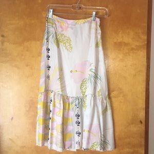 Cynthia Rowley Silk Skirt